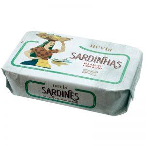 Sardinhas em Azeite com Alho Nevis 120g