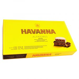 Alfajores Mistos Merengue ou Chocolate Havanna 306g