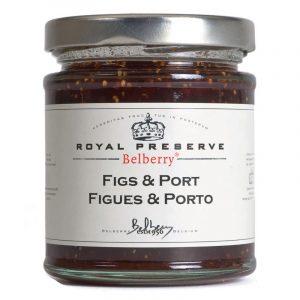 Belberry Figs & Port Extra Jam 215g