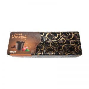 Copos de Chocolate Preto bySocilink 125g
