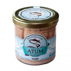 bySocilink Azorean Tuna Fillet in Brine in Jar 150g