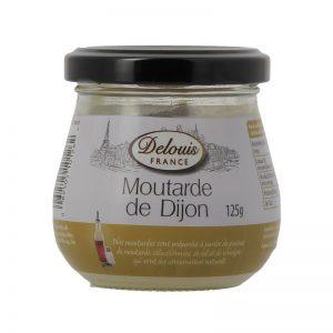 Mostarda de Dijon Delouis 125g