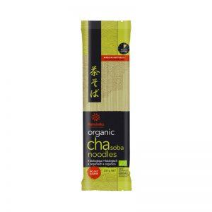 Noodles com Chá Verde Japoneses Biológicos Hakubaku 200g
