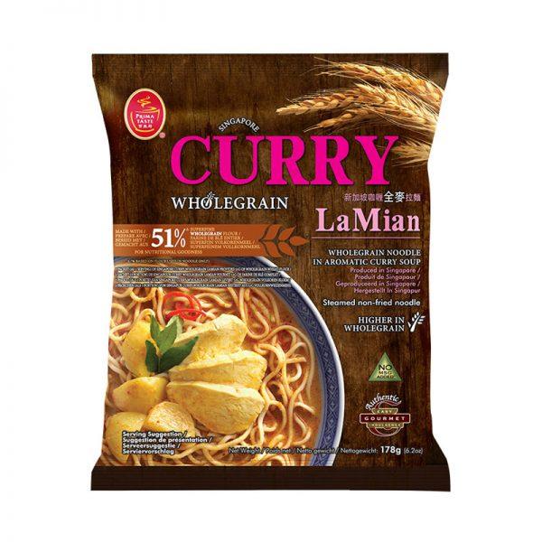 Noodles com Caril La Mian Prima Taste 178g