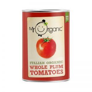 Tomate Inteiro Pelado Biológico Mr Organic 400g