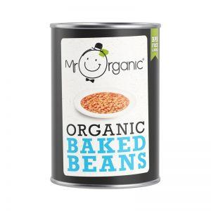 "Feijão ""Baked Beans"" Biológico Mr Organic 400g"