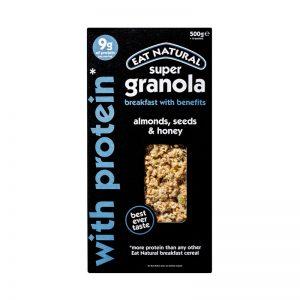 Granola Proteica de Amêndoa Sementes e Mel Eat Natural 500g