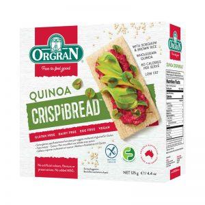 Crispbread de Quinoa Orgran 125g