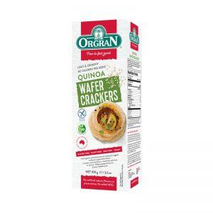 Wafer Crackers com Quinoa  Orgran 100g