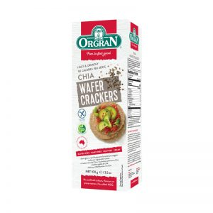 Wafer Crackers com Chia Orgran 100g
