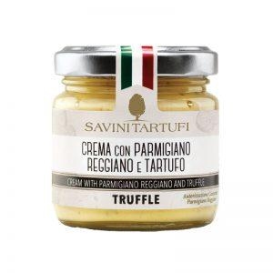 Creme de Queijo Parmigiano com Trufa DOP  Savini 90g