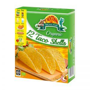 Conchas para Tacos Biológicas (12un) Cantina Mexicana 150g