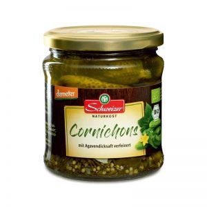 Cornichons em Conserva Certificação Biológica Demeter Schweizer 370ml