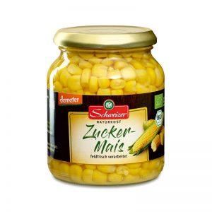 Milho Doce em Conserva com Certificação Biológica Demeter Schweizer 370ml
