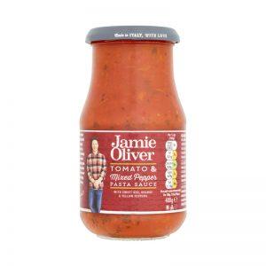Molho para Massa de Tomate e Mistura de Pimentos Jamie Oliver 400g