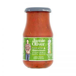 Molho para Massa de Tomate e Legumes Mediterrânicos Jamie Oliver 400g