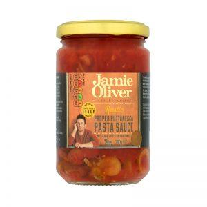 "Molho para Pasta Rústico ""Alla Putanesca"" Jamie Oliver 280g"