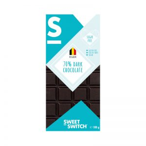 Chocolate Preto 70% Low Sugar Sweet Switch 100g