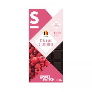 Chocolate Preto 88% com Framboesa Low Sugar Sweet Switch 100g