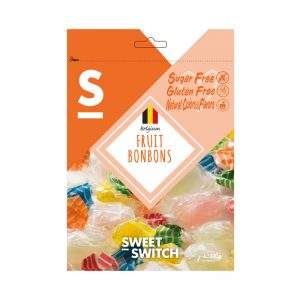 Bombons de Fruta Sugar Free Sweet Switch 100g