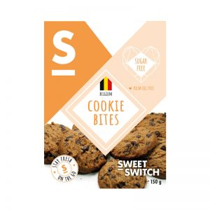 Biscoitos Cookie Bites Sugar Free Sweet Switch 150g