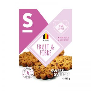 Biscoitos Fruit & Fibre Low Sugar Sweet Switch 150g