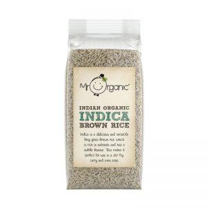 Arroz Integral Indica da India Biológico Mr Organic 500g