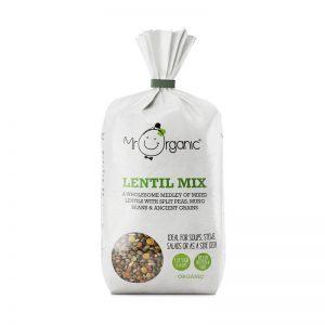 Mistura de Lentilhas Biológica Mr Organic 500g