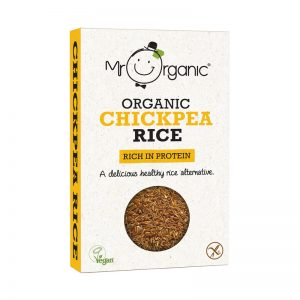Mr Organic Chick Pea Rice 250g