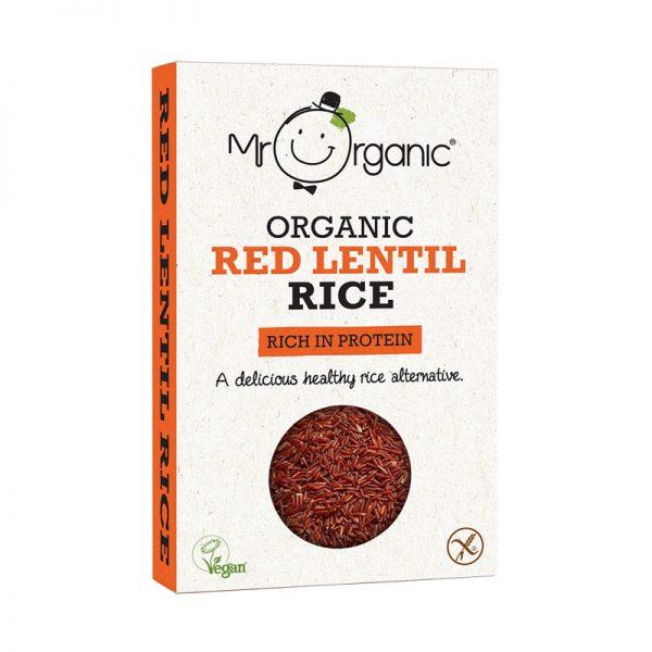 Arroz de Lentilhas Vermelhas Biológico Mr Organic 250g