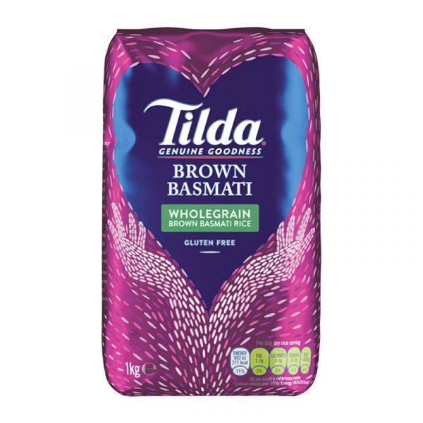Arroz Basmati Integral Tilda 1kg