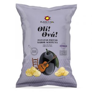Batatas Fritas Oli Ová com sabor a Azeitona Plaza del Sol 115g
