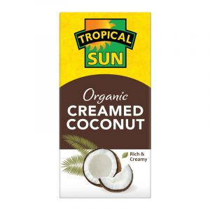Tropical Sun Organic Creamed Coconut 200g