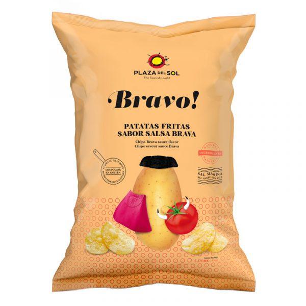 Batatas Fritas Bravo Plaza del Sol 115g