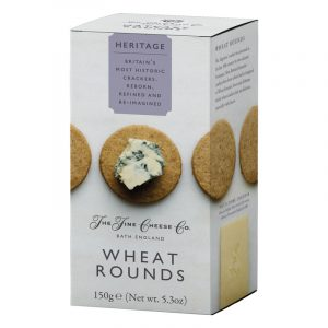 Crackers Wheat Rounds Heritage The Fine Cheese Co. 150g