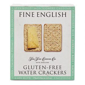 Water Crackers sem Glúten Fine English The Fine Cheese Co. 170g