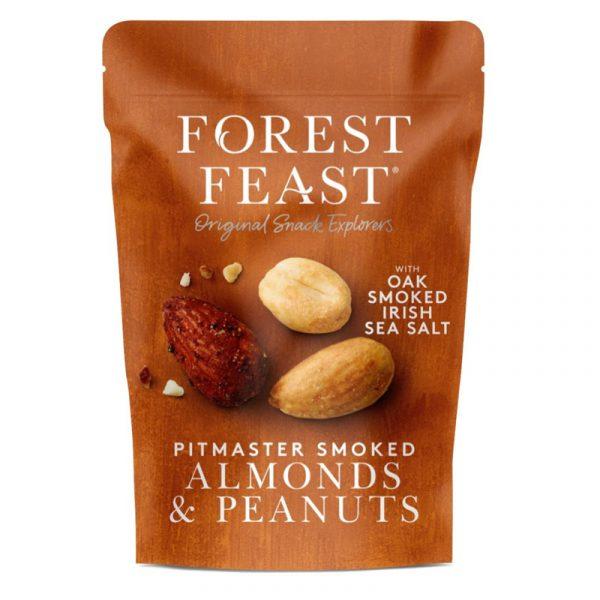 Amêndoas e Amendoins com Sal Fumado Forest Feast 120g