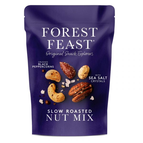 Mistura de Frutos Secos com Pimenta e Sal Forest Feast 120g