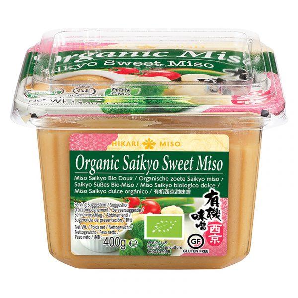 Pasta Miso Saikyo Doce Biológica Hikari 400g