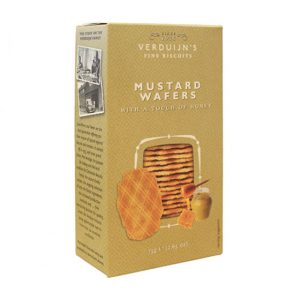 VERDUIJNS Mustard Wafers with Honey 75g