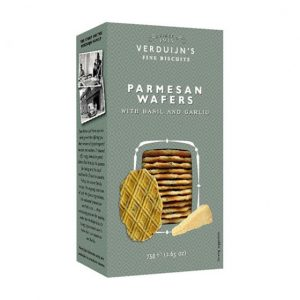 VERDUIJNS Parmesan Wafers with Garlic and Basil 75g