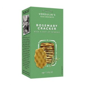 VERDUIJNS Rosemary crackers with a hint of seasalt 75g