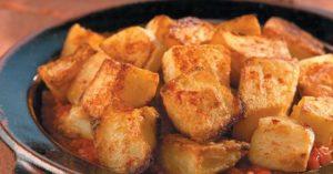 Batatas Bravas com Molho Aioli
