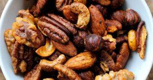 Frutos Secos Torrados e Temperados
