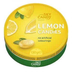 Rebuçados de Limão Sky Candy 130g