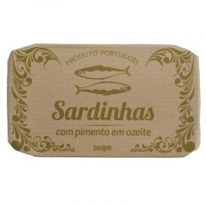 Sardinhas com Pimenta em Azeite bySocilink 125g