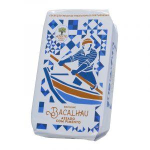 Bacalhau com Pimento em Azeite Virgem Extra bySocilink 125g