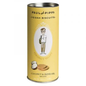 "Biscoitos de Coco ""Coconut Valley"" em Tubo Paul & Pippa 130g"