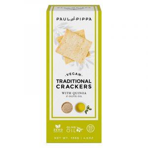 Crackers Tradicionais de Quinoa Paul & Pippa 130g