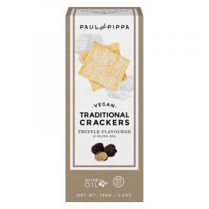 Crackers Tradicionais de Trufas Paul & Pippa 130g